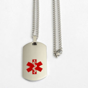 Medical Identification Necklace
